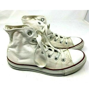 Converse a White High Top Sneakers 1876